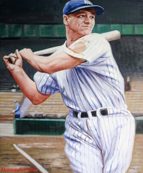 lou gehrig 16x20 for sale