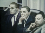 Malcolm X, Obama and MLK Jr 16x20