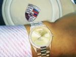 Porsche and Rolex 16x20