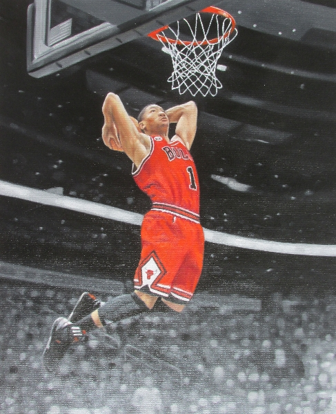 Derrick Rose Dunk Edit