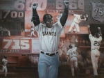 Barry Bonds 24x36