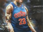 Lebron James 16x20
