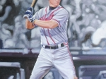 Chipper Jones 20x30