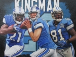 Reggie Bush, Matt Stafford and Calvin Johnson 16x20