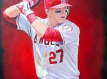 Mike Trout 24x36