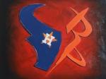 Texas Logos 16x20
