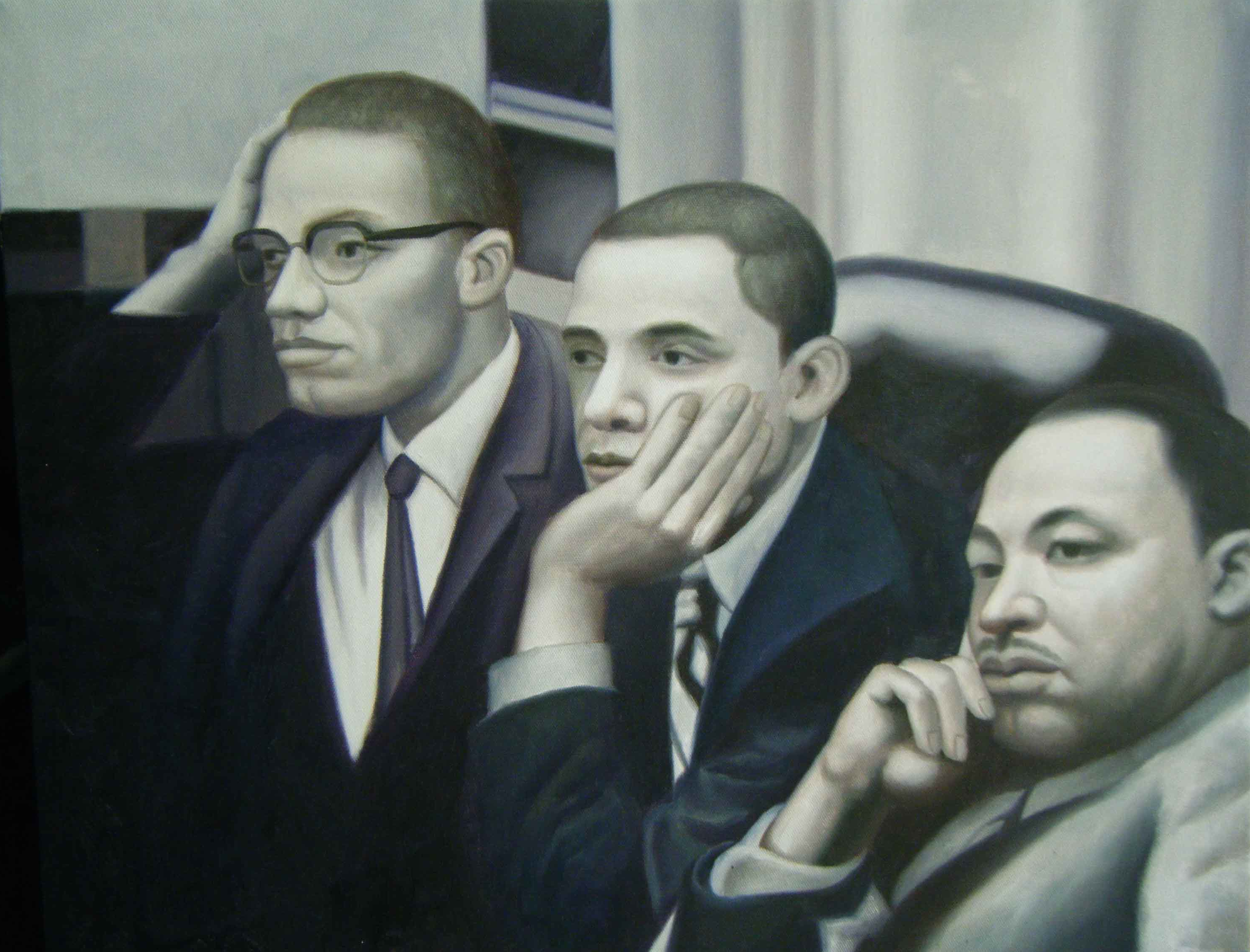malcolm x obama and martin luther king jr moreau art malcolm x obama and martin luther king jr