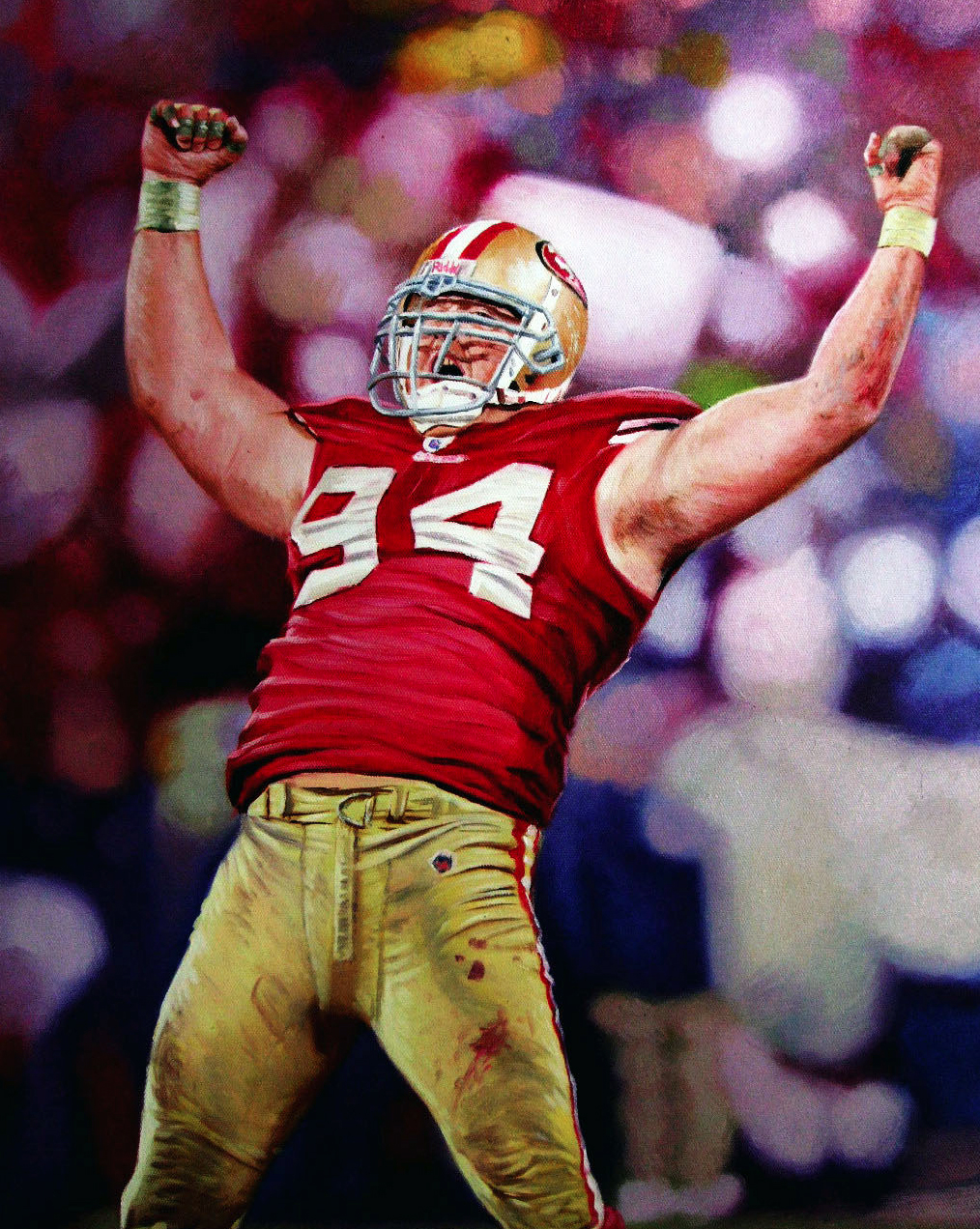 Justin Smith 16x20