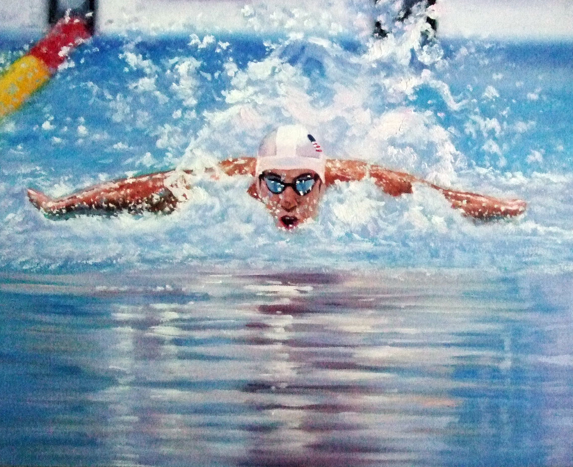 Michael Phelps 16x20